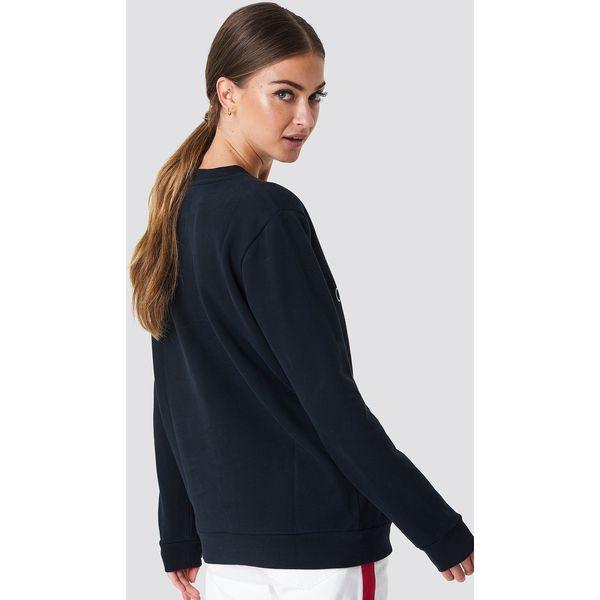 03a81377caf6d Calvin Klein Bluza Core Monogram Logo - Black - Bluzy damskie marki ...