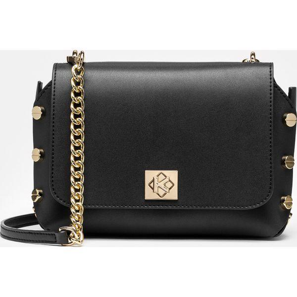 1c57f49165722 Czarna torebka przez ramię damska - Torby na ramię damskie marki ...