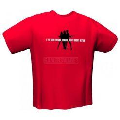 GamersWear SCHOOLGIRLS T-Shirt czerwona (XXL) ( 5071-XXL ). Czerwone t-shirty i topy dla dziewczynek GamersWear. Za 105.53 zł.