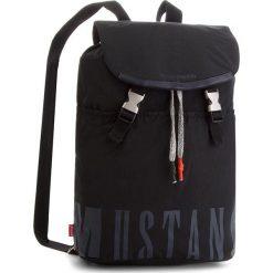 Plecak MUSTANG - El Paso 4100000027 Black 900. Czarne plecaki damskie Mustang, z materiału. W wyprzedaży za 209.00 zł.