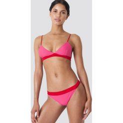 Twist & Tango Dół bikini LA - Pink. Różowe bikini damskie Twist & Tango, w paski. W wyprzedaży za 70.98 zł.