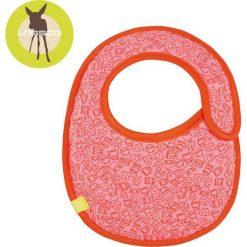 Lassig Śliniak bawełniany wodoodporny Little Monster koral - LTEXBS192. Różowe śliniaki dla dzieci Lassig, z bawełny. Za 31.99 zł.
