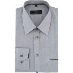 Koszula MARCO 16-04-08-K. Szare koszule męskie Giacomo Conti, z bawełny, z klasycznym kołnierzykiem. Za 169.00 zł.