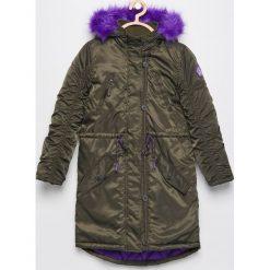Ocieplana parka - Khaki. Brązowe kurtki i płaszcze dla dziewczynek Reserved. Za 149.99 zł.