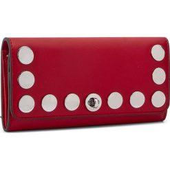 Duży Portfel Damski MICHAEL KORS - Rivington Stud 32S7SR7F3L  Bright Red. Czerwone portfele damskie MICHAEL Michael Kors, ze skóry. W wyprzedaży za 479.00 zł.