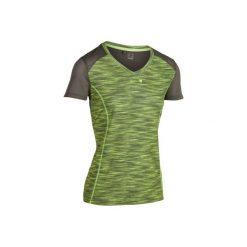 T-Shirt tenisowy Soft 500 damski. Brązowe t-shirty damskie ARTENGO, z meshu. W wyprzedaży za 24.99 zł.