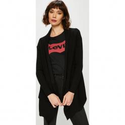 Guess Jeans - Sweter. Czarne kardigany damskie Guess Jeans, z aplikacjami, z dzianiny. Za 549.90 zł.