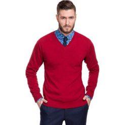 Sweter FABRIZIO SWTR000113. Swetry przez głowę męskie marki Pulp. Za 229.00 zł.