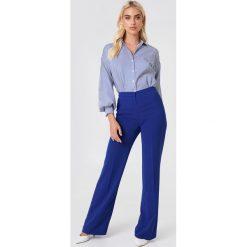 Trendyol Koszula w paski z bufiastym rękawem - Blue,Multicolor. Niebieskie koszule damskie Trendyol, w paski. Za 100.95 zł.