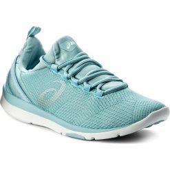 Buty ASICS - Gel-Fit Sana 3 S751N Porcelain Blue/Silver/White 1493. Niebieskie obuwie sportowe damskie Asics, z materiału. W wyprzedaży za 259.00 zł.