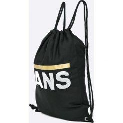Vans - Plecak. Czarne plecaki damskie Vans, z bawełny. Za 69.90 zł.