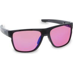Okulary przeciwsłoneczne OAKLEY - Crossrange XL OO9360-0358 Carbon/Prizm Trail. Szare okulary przeciwsłoneczne męskie Oakley, z tworzywa sztucznego. W wyprzedaży za 579.00 zł.