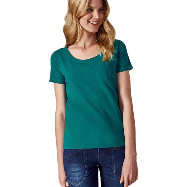6a830a04a2 Bluzka w kolorze zielonym - Bluzki damskie marki Tatuum. W ...