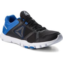 Buty Reebok - Yourflex Train 10 Mt CN5650  Black/Vital Blue/White. Czarne buty sportowe męskie Reebok, z materiału. W wyprzedaży za 159.00 zł.