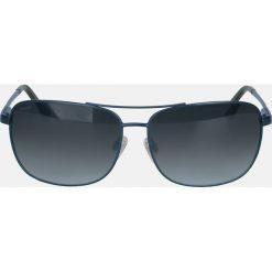 Granatowe okulary z polaryzacją. Niebieskie okulary przeciwsłoneczne męskie Kazar, z tworzywa sztucznego. Za 349.00 zł.