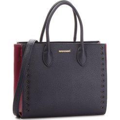 Torebka MONNARI - BAGA970-013 Navy With Pink. Niebieskie torebki do ręki damskie Monnari, ze skóry ekologicznej. W wyprzedaży za 199.00 zł.