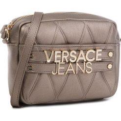 Torebka VERSACE JEANS - E1VSBBL4-70712  966. Żółte listonoszki damskie Versace Jeans, z jeansu. W wyprzedaży za 429.00 zł.