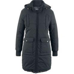 Płaszcz z ciepłym watowaniem bonprix czarny. Płaszcze damskie marki FOUGANZA. Za 239.99 zł.