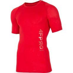 Bielizna 4FPRO TSMF401 - CZERWONY. Czerwona bielizna termoaktywna męska 4f, z jersey. W wyprzedaży za 79.99 zł.