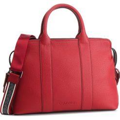 Torebka CALVIN KLEIN - Race Tote K60K604882 640. Czerwone torebki do ręki damskie Calvin Klein, ze skóry ekologicznej. Za 699.00 zł.