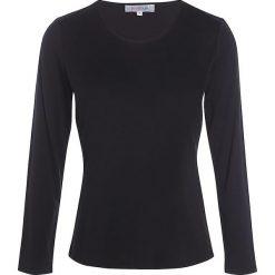 """Koszulka """"Soie"""" w kolorze czarnym. Czarne t-shirty damskie Scottage, z okrągłym kołnierzem. W wyprzedaży za 68.95 zł."""