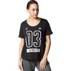 Adidas Koszulka NYC czarna r. XS (AY4978). T-shirty damskie Adidas. Za 108.62 zł.
