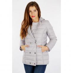 """Kurtka zimowa """"Douchic"""" w kolorze szarym. Szare kurtki damskie Scottage, na zimę. W wyprzedaży za 227.95 zł."""