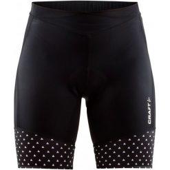 Craft Spodenki Rowerowe Damskie Velo Shorts, Czarny Z Wzorem M. Czarne szorty sportowe damskie Craft, z materiału. W wyprzedaży za 209.00 zł.