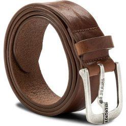 Pasek Męski JOOP! - JEANS 7622 100 Cognac A03. Brązowe paski damskie JOOP!, w paski, z jeansu. W wyprzedaży za 249.00 zł.