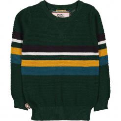 """Sweter """"My Heroics"""" w kolorze ciemnozielonym. Swetry dla chłopców marki Reserved. W wyprzedaży za 122.95 zł."""