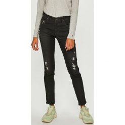 Diesel - Jeansy Babhila. Czarne jeansy damskie Diesel. W wyprzedaży za 749.90 zł.