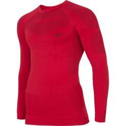 Bielizna bezszwowa (góra) męska BIMB300G - czerwony. Bielizna termoaktywna męska marki 4f. Za 99.99 zł.