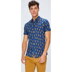 Medicine - Koszula Monumental. Szare koszule męskie MEDICINE, z bawełny, z klasycznym kołnierzykiem, z krótkim rękawem. W wyprzedaży za 39.90 zł.
