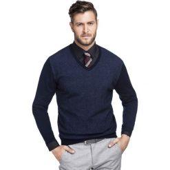 Sweter WALTER SWGR000219. Swetry przez głowę męskie marki Giacomo Conti. Za 199.00 zł.