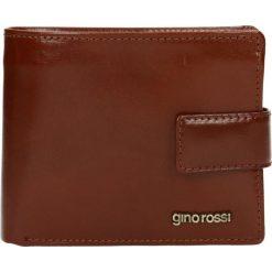 Portfel męski PIEMONTE. Żółte portfele męskie Gino Rossi, ze skóry. W wyprzedaży za 249.90 zł.