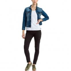 """Dżinsy """"Alan Cargo"""" - Skinny fit - w kolorze czarnym. Czarne jeansy damskie Cross Jeans. W wyprzedaży za 136.95 zł."""