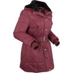Kurtka pikowana outdoorowa bonprix czerwony klonowy. Czerwone kurtki damskie bonprix, w paski. Za 269.99 zł.