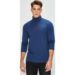 Pierre Cardin - Longsleeve. Niebieskie bluzki z długim rękawem męskie Pierre Cardin, z bawełny, polo. W wyprzedaży za 99.90 zł.