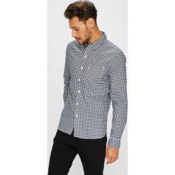 Levi's - Koszula. Brązowe koszule męskie Levi's, z bawełny, button down, z długim rękawem. Za 279.90 zł.