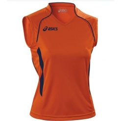 Asics Koszulka damska Aruba pomarańczowa r. M (T603Z1.6950). Bluzki damskie Asics. Za 72.00 zł.
