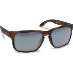 Okulary przeciwsłoneczne OAKLEY - Holbrook OO9102-F455 Matte Brown Tortoise/Prizm Black Iridium. Brązowe okulary przeciwsłoneczne damskie Oakley. W wyprzedaży za 479.00 zł.