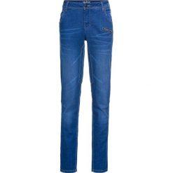 Miękkie dżinsy ze stretchem Boyfriend bonprix niebieski. Jeansy damskie marki bonprix. Za 119.99 zł.