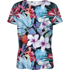 Colour Pleasure Koszulka damska CP-030 162 czarno-niebieska r. XL/XXL. T-shirty damskie Colour Pleasure. Za 70.35 zł.