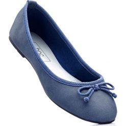 Baleriny bonprix niebieski dżins. Niebieskie baleriny damskie bonprix. Za 27.99 zł.