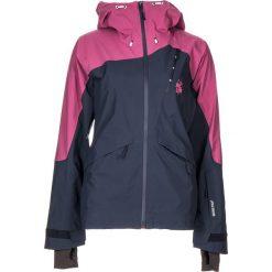 """Kurtka narciarska """"AstoriaM."""" w kolorze granatowo-fioletowym. Niebieskie kurtki snowboardowe damskie Maloja, z gore-texu. W wyprzedaży za 861.95 zł."""