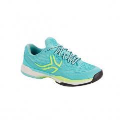 Buty tenisowe TS990 damskie. Niebieskie obuwie sportowe damskie ARTENGO, z gumy. Za 199.99 zł.