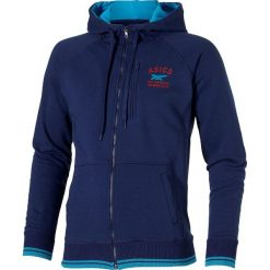 Asics Bluza męska Full Zip Hoodi niebieska r. M (123095.8052). Bluzy męskie Asics. Za 133.30 zł.