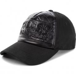 Czapka z daszkiem GUESS - AM7936 COT01 BLA. Czarne czapki i kapelusze damskie Guess, z materiału. Za 189.00 zł.