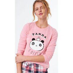 Etam - Bluzka piżamowa Clotilde. Koszule nocne damskie Etam, z nadrukiem, z bawełny. W wyprzedaży za 49.90 zł.