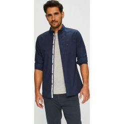 Tommy Jeans - Koszula. Czarne koszule męskie Tommy Jeans, z bawełny, button down, z długim rękawem. Za 299.90 zł.